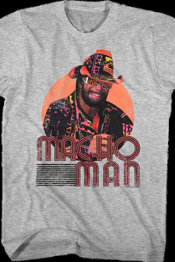 Macho Clothing Co: Macho Man Randy Savage Shirt: 80s TV Wrestling T-shirt