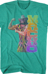 Macho Man Randy Savage Biceps Shirt