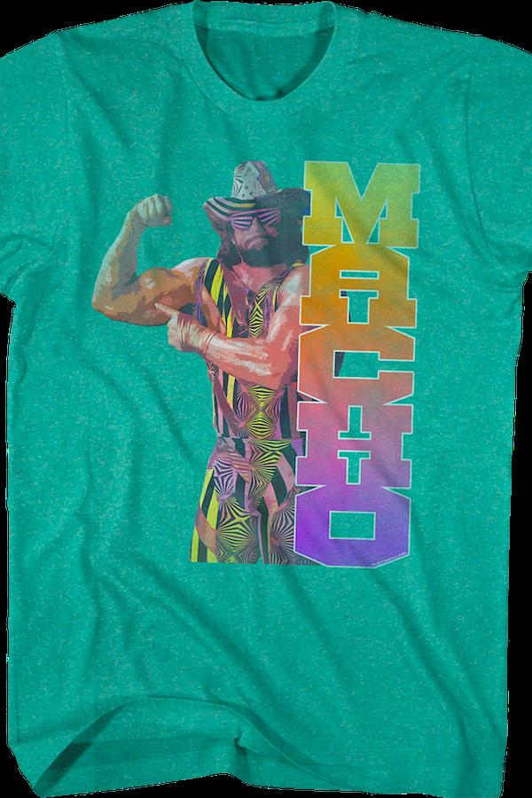 Macho Clothing Co: Macho Man Randy Savage Biceps Shirt: Wrestling Mens T-shirt