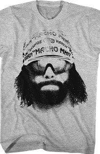Macho Man Picture Shirt
