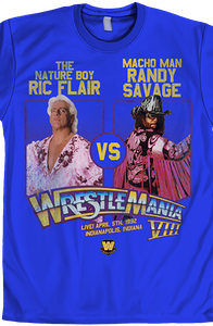Ric Flair Vs Macho Man WrestleMania Shirt