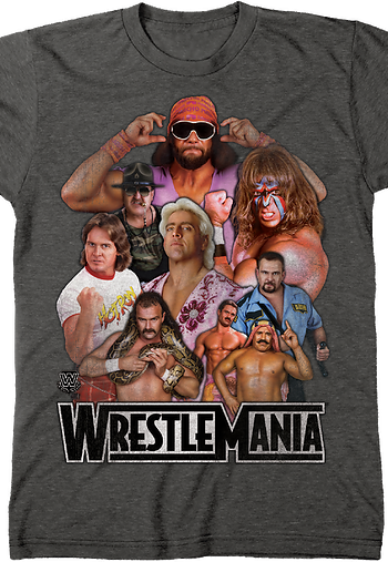 WrestleMania Legends T-Shirt