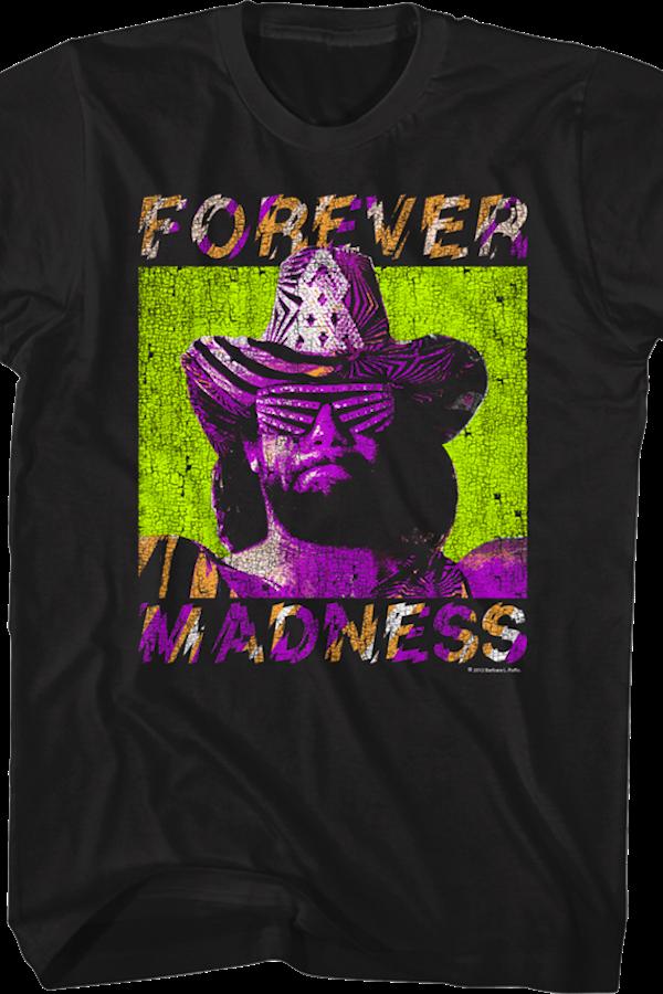 Macho Clothing Co: Forever Madness Macho Man Randy Savage T-Shirt