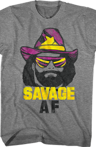 Savage AF Macho Man T-Shirt