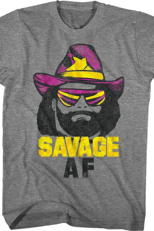 cc51e5c0f5ce Savage AF Macho Man T-Shirt  Macho Man Mens T-Shirt