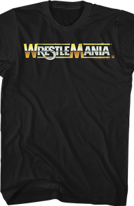 Logo WrestleMania T-Shirt