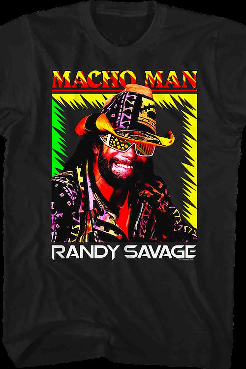 Macho Clothing Co: Macho Man Randy Savage T-Shirt