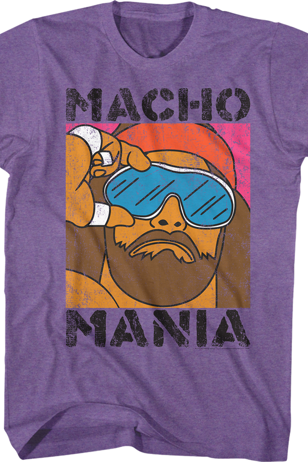 Macho Mania Randy Savage Shirt