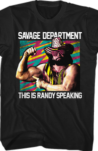 Savage Department Macho Man T-Shirt