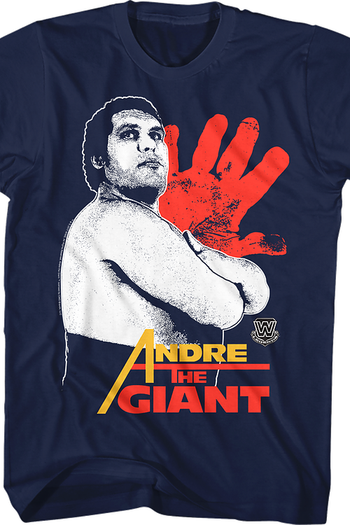 Handprint Andre The Giant T-Shirt