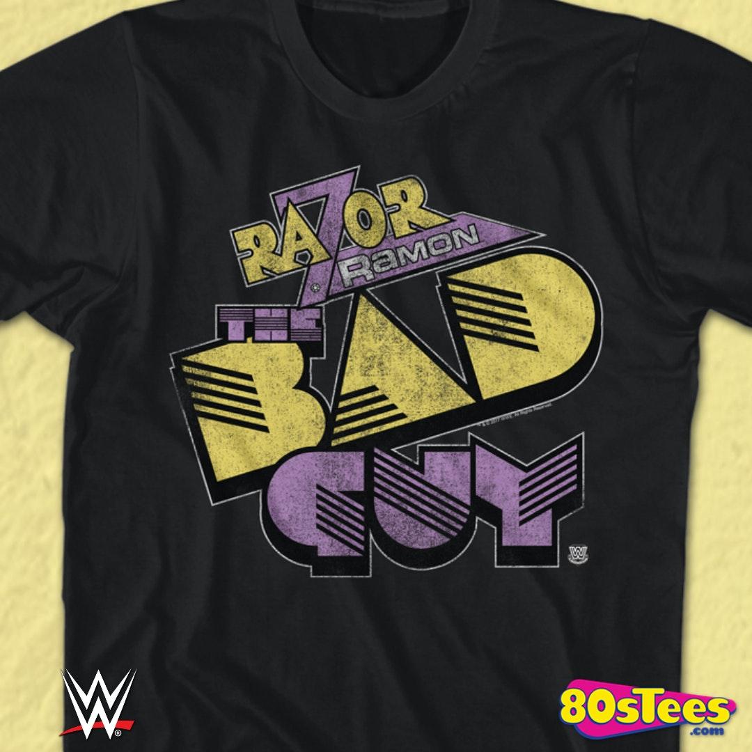& Razor Ramon T-Shirt: WWE Mens T-Shirt