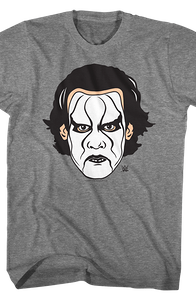 Crow Face Paint Sting T-Shirt