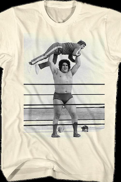 57565cb9 Gorilla Press Andre The Giant T-Shirt. Men's T-Shirt