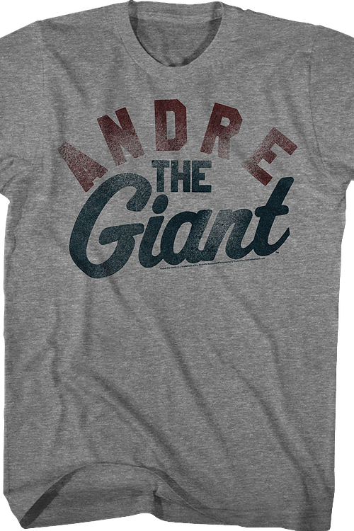 Distressed Andre The Giant T-Shirt