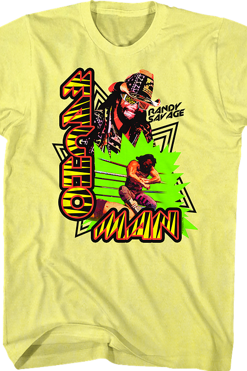 Collage Macho Man Randy Savage T-Shirt
