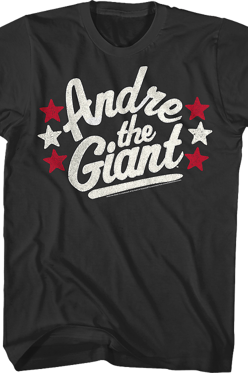 Stars Andre The Giant T-Shirt