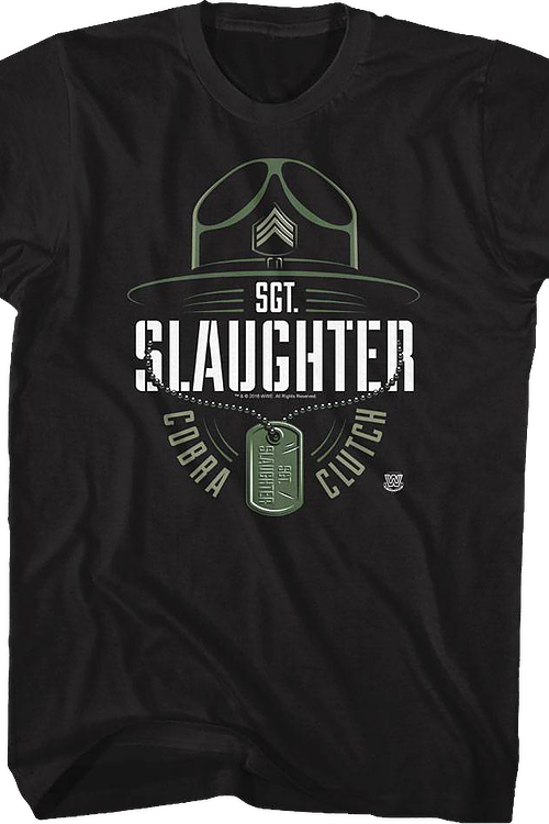 Cobra Clutch Sgt. Slaughter T-Shirt