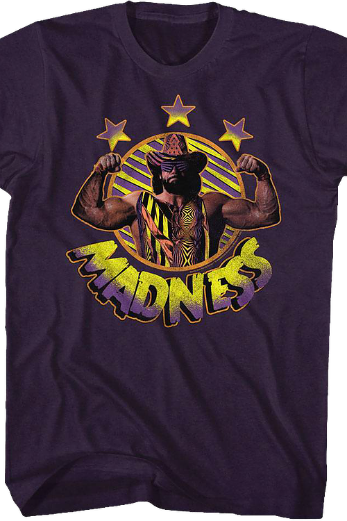 Madness Macho Man Randy Savage T-Shirt