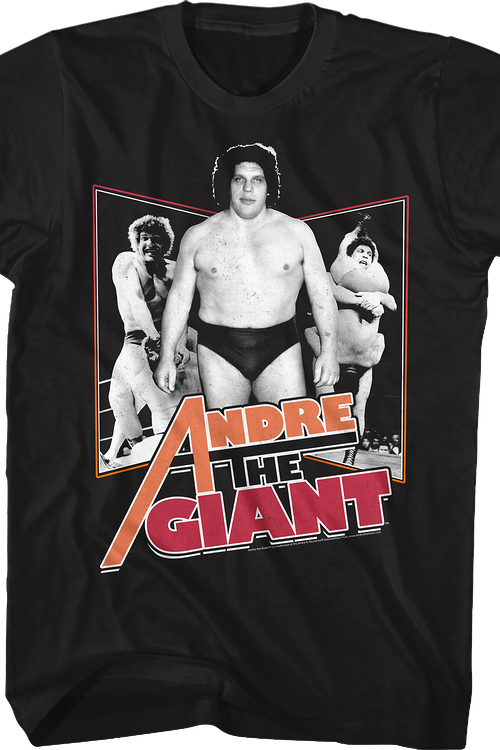 Collage Andre The Giant T-Shirt