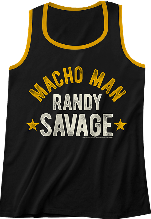 Macho Man Randy Savage Tank Top
