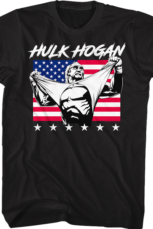 Real American Hulk Hogan T-Shirt
