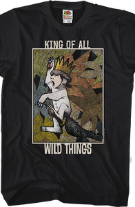 King Where The Wild Things Are T-Shirt