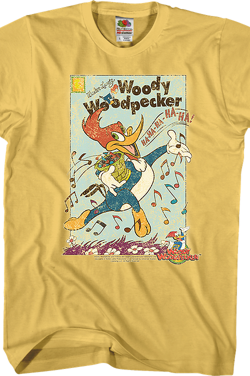Vintage Woody Woodpecker T-Shirt