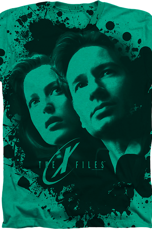 Green X-Files T-Shirt
