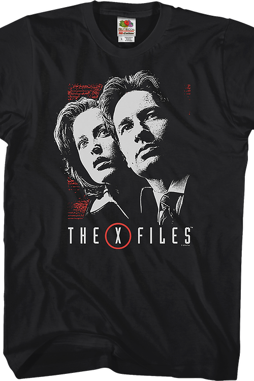 Dana Scully and Fox Mulder X-Files T-Shirt