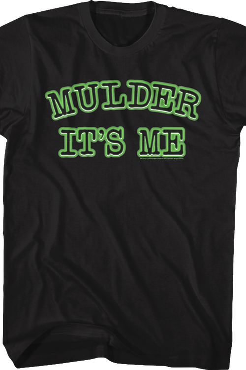 Mulder It's Me X-Files T-Shirt