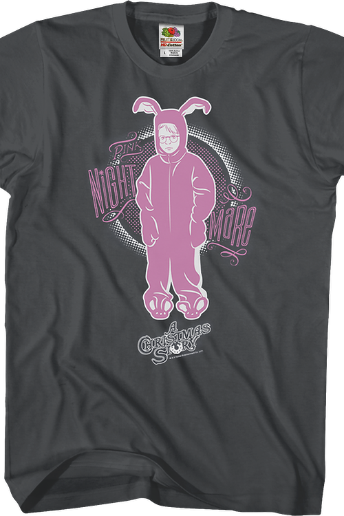 Pink Nightmare Christmas Story T-Shirt