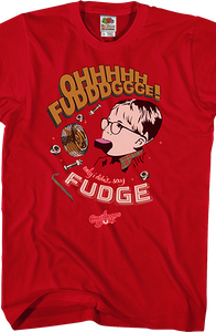Oh Fudge Christmas Story T-Shirt