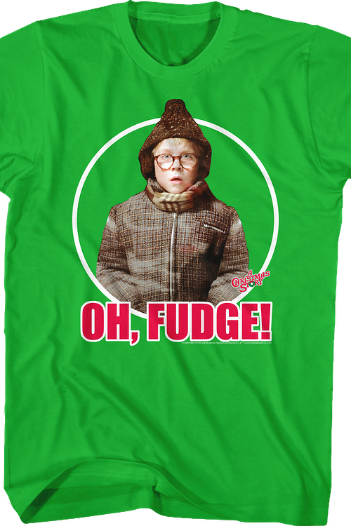 Ralphie Oh Fudge Christmas Story T-Shirt