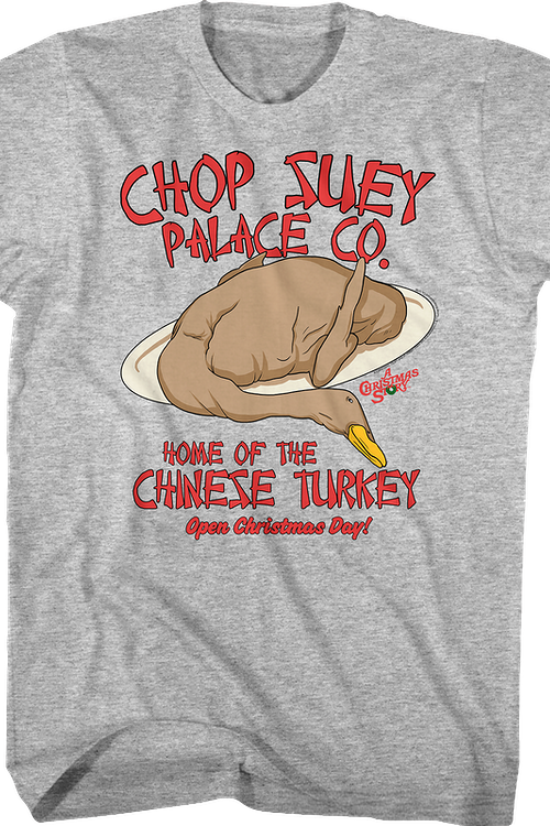 Chinese Turkey Christmas Story T-Shirt