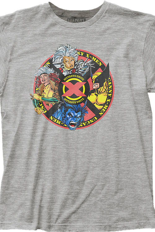 Mutants Unite X-Men T-Shirt