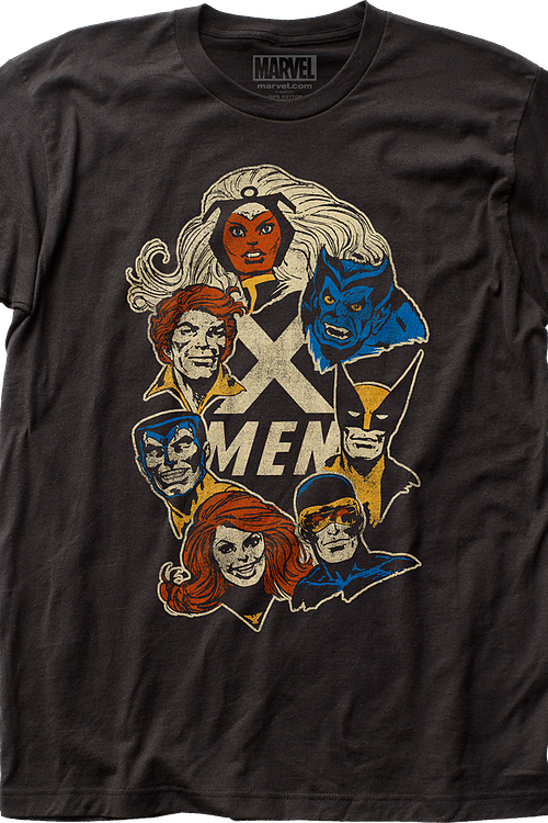 Faces X-Men T-Shirt