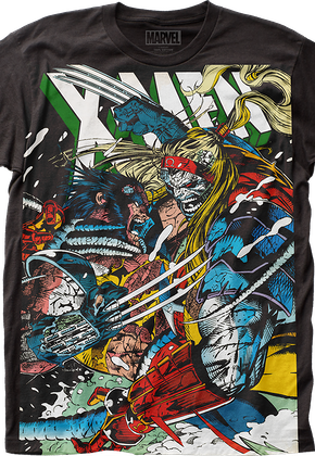 Wolverine vs Omega Marvel Comics T-Shirt