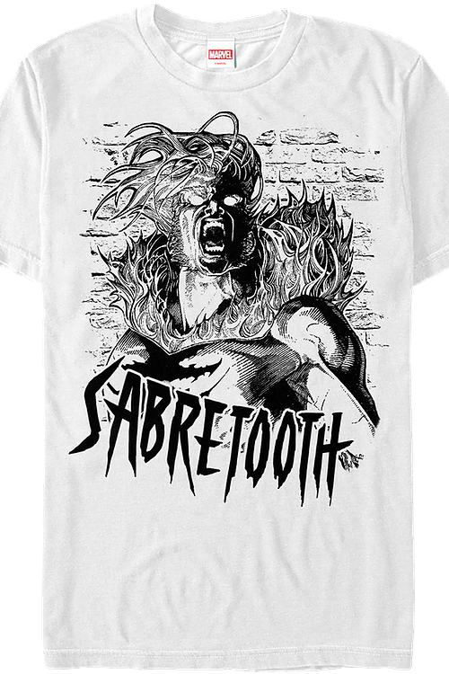 Sabretooth X-Men T-Shirt