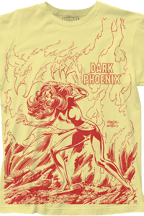 Dark Phoenix Marvel Comics T-Shirt