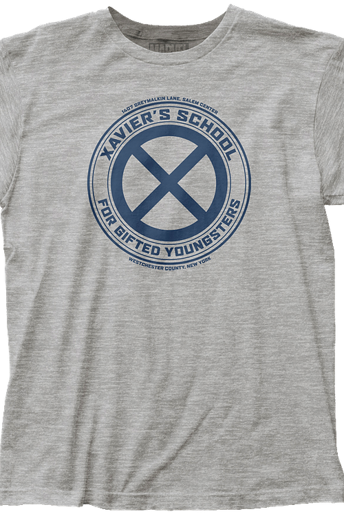 Xavier's School For Gifted Youngsters X-Men T-Shirt