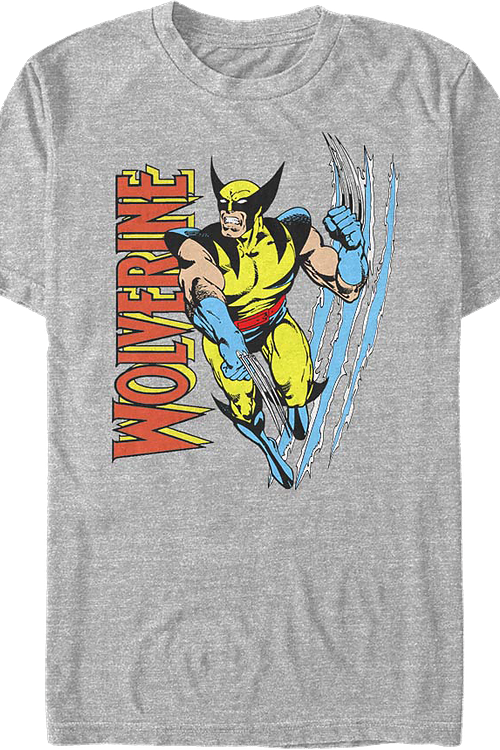 Torn Wolverine Marvel Comics T-Shirt
