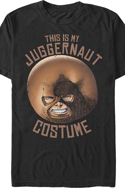 This Is My Juggernaut Costume X-Men T-Shirt