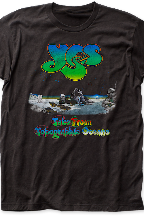 Yes Tales From Topographic Oceans Album T-Shirt