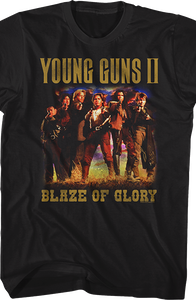 Blaze of Glory Young Guns T-Shirt