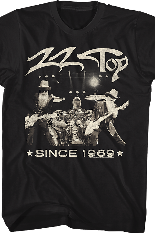 Since 1969 ZZ Top T-Shirt