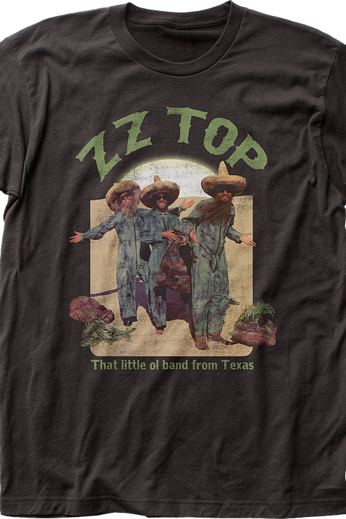 Band From Texas ZZ Top T-Shirt