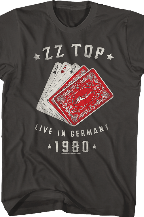 Live In Germany ZZ Top T-Shirt